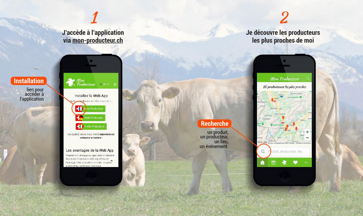 applicazioni di collegamento locale per iPhone